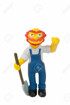 THE SIMPSONS GROUNDSKEEPER WILLIE Limited Edition Figurine Collection