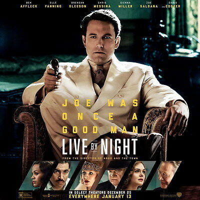 """8170 Hot Movie TV Shows - Live by Night 2017 2 14""""x14"""" Poster"""