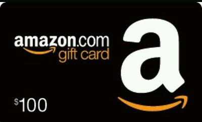 Amazon Gift Card 100$ (physical card delivery)