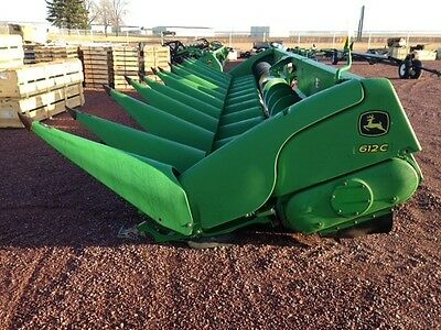 2009 John Deere 612C Headers