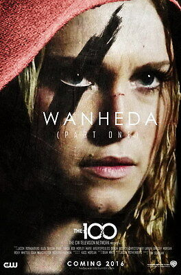 """8645 Hot Movie TV Shows - The 100 38 14""""x21"""" Poster"""
