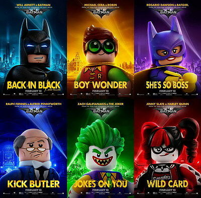 "8720 Hot Movie TV Shows - The Lego Batman Movie 2017 19 14""x14"" Poster"