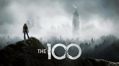 "8630 Hot Movie TV Shows - The 100 24 24""x14"" Poster"