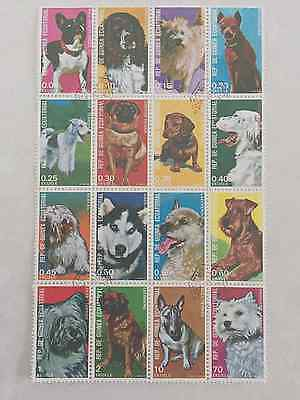 Equatorial Guinea Minisheet 1977: Dogs