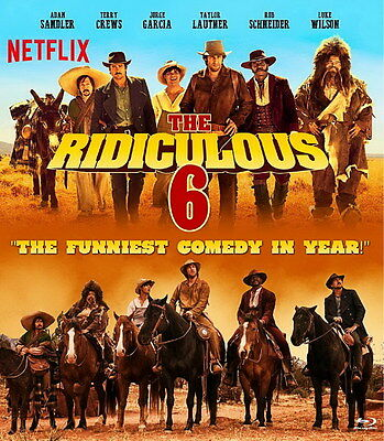 "8785 Hot Movie TV Shows - The Ridiculous 6 1 14""x16"" Poster"