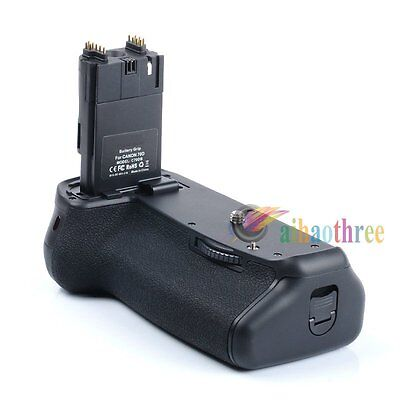 Vertical  LP-E6 Battery Grip Holder + Remote For Canon EOS 70D 80D Camera【AU】