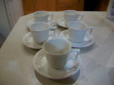 Vintage BHS Lincoln-set of 5 cup and saucers