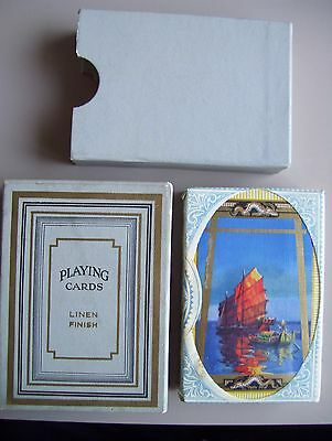 Vintage Deck Of Tax Wrapped Sealed Playing Cards.(Sealed & Mint).