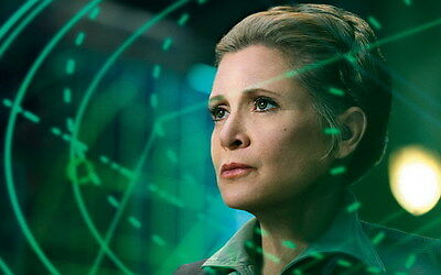 """MX18077 Carrie Fisher - American Actress Princess Leia Star 22""""x14"""" Poster_18077"""