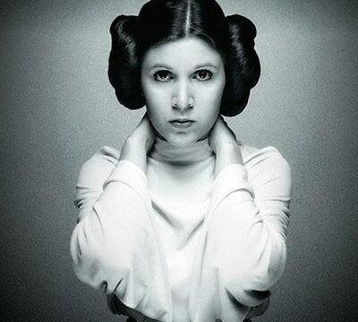 "MX18145 Carrie Fisher - American Actress Princess Leia Star 15""x14"" Poster_18145"