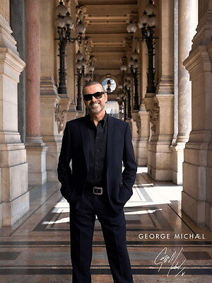 "MX18267 George Michael - English Pop Singer Music Star 14""x18"" Poster"