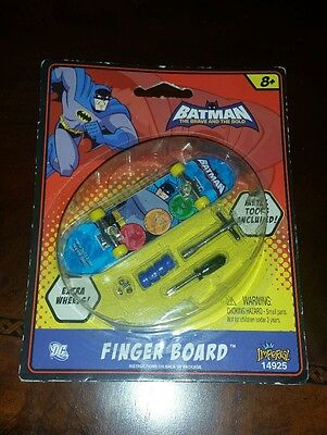Batman Fingerboard The Brave and the Bold Tech Deck Skateboard