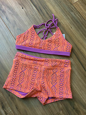 California Kisses Dance outfit size child's LG XL NWT