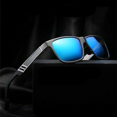 Men Aluminum Polarized Driving Sun Glasses Sports Mirrored Sunglasses Eyewear CU