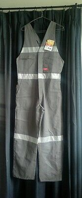 New Action Back Overalls Mens Work Workwear Size 87S