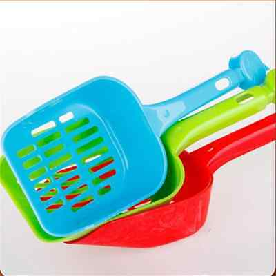 Cat Dog Pet Poop Scoop Sieve Litter Animals Wastes Cleaning Tool Plastic YDK