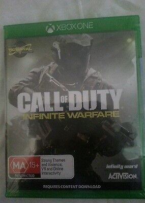 Call of duty infinite warfare   brand new sealed