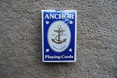 Anchor Playing Cards New Vintage Sealed Great Britain
