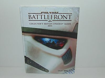 Star Wars Battlefront Official Collector's Edition Strategy Guide Book - New