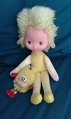 """Vintage 1983 Rainbow Brite, Colour Kid Canary Yellow Approx 11"""""""