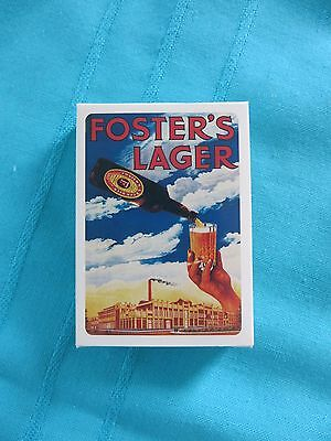 Breweriana Foster's Lager Playing Cards.. New