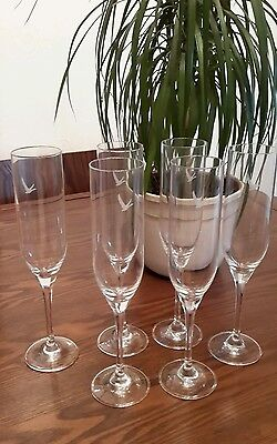 6 x Grey Goose Stemmed Glassed Restaurant Quality New boxed