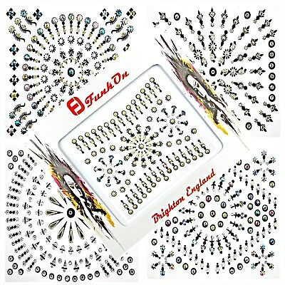 Huge Bindi Pack Diamante Crystal Festival Gem Wedding  Bridal Wedding Tattoo !