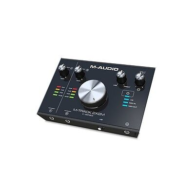 M-Audio M-Track 2X2M Studio 2-Channel USB MIDI Audio Interface Inc Warranty