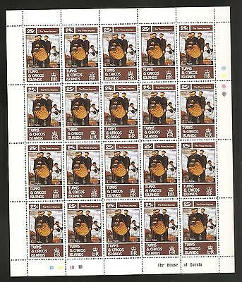 Turks & Caicos 1982 Norman Rockwell MNH Sheets & Singles and Used Complete Sets