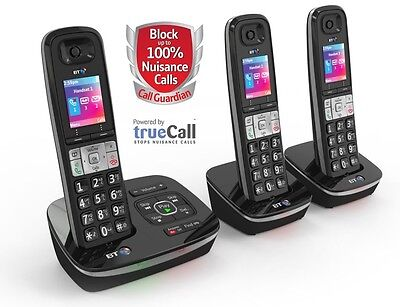BT 8500 Trio - Advanced Call Blocker - Digital Cordless with Answer Machine