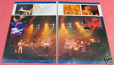 GENESIS PHIL COLLINS Tony Banks Mike Rutherford 1978 CLIPPING JAPAN OS 8A 2PAGE