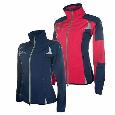 HKM Pro Team Softshell Jacket -Neon Sports- Breathable Windproof Dirt Resistant