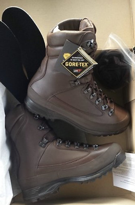British Army Issue Karrimor Sf Goretex Cold Weather Combat Boots Size 10M New