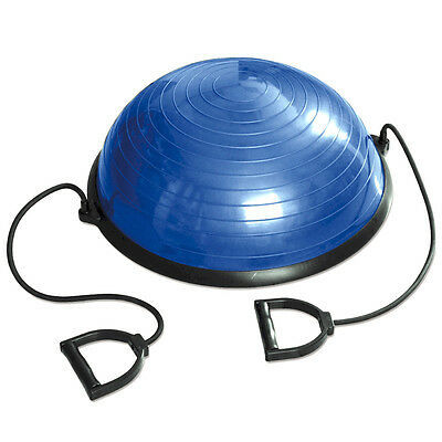 Tunturi Balance Trainer Fitness Exercise Ball with Resistance Bands - RETURN