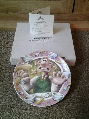 Wallace And Gromit  ...Morning Mayhem plate