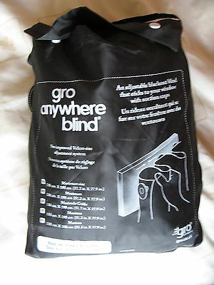 NEW Version Go Gro Anywhere Blackout Blind Moon and Stars Blackout Curtain