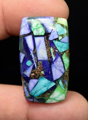 30.20  Cts.  Natural  Colorful  Copper  Howlite  Cushion  Cab Loose  Gemstones
