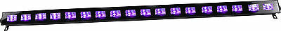 Ibiza Light UV BAR 18 x 3W LED Batten Ultraviolet Blacklight DJ Disco High Power