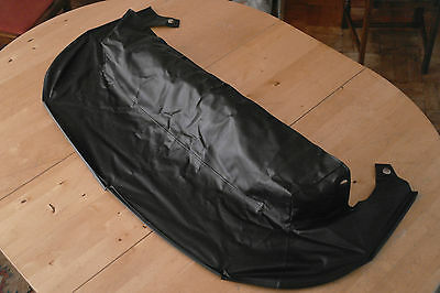 Perfect Mazda MX-5 Tonneau, in Black. Cover for folded soft top convertible roof