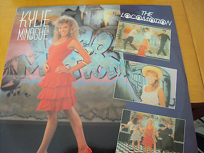 """Kylie Minogue """"the Loco-Motion"""" Ex 1988 Uk 12"""" Single In Pic. Sleeve"""