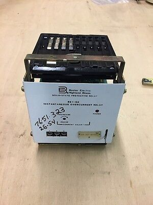 New, Basler Electric BE1-50 G2E-AIP-GONOF Instantaneous Overcurrent Relay
