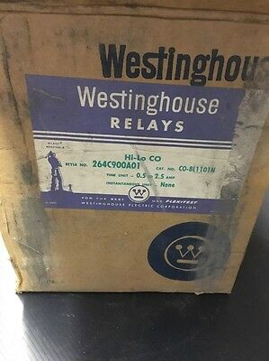 New In Box - Westinghouse Overcurrent Relay, Type: C0-8, Cat: C0-8L1101N