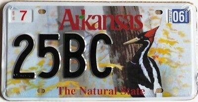 Plaque immatriculation americaine n° 90 ARKANSAS - USA - Reproduction