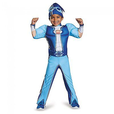Disguise Sportacus Toddler Muscle Lazy Town Cartoon Network Costume, One Color,