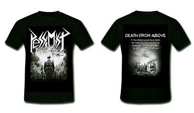 PESSIMIST  Death From Above  T-Shirt  Größe Size XXL Oldschool Thrash Metal Band