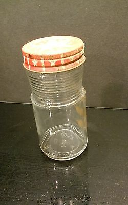 Vintage Maxwell House Coffee Jar with lid  2 oz
