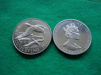 Falkland Islands 1997 Wwf Conserving Nature 50P Albatross Brill/ Unc. Freepost
