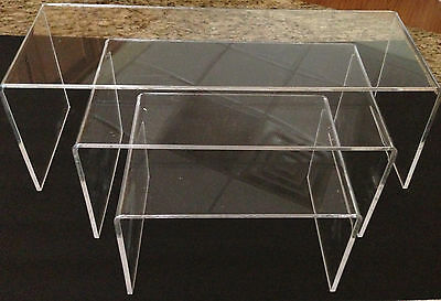 Acrylic Table Display Risers,stands