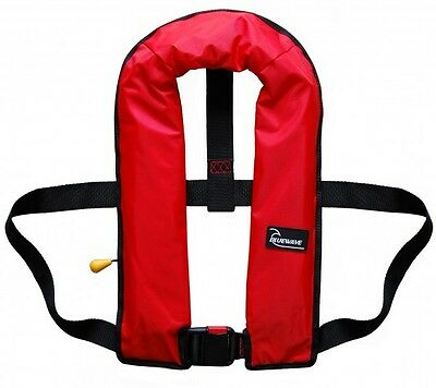 Bluewave Adult Manual 150N Red Lifejacket - 2017 Stock! One size fits all.