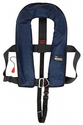 Bluewave Automatic 150N Navy Lifejacket with Harness - 2017 Stock!